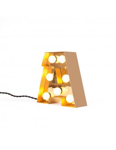 lampe de sol caractere en m tal au style industriel par selab x studio badini x seletti. Black Bedroom Furniture Sets. Home Design Ideas