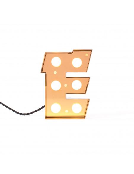 Lampe de sol CARACTERE en métal au style industriel par Selab X Studio Badini X Seletti