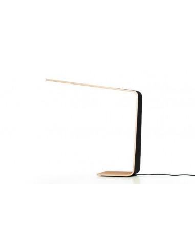 Lampe à poser tactile en bois Led 4 Couleur au design scandinave et minimaliste