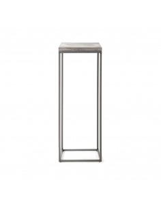Console design Perspective Stand en métal et plateau en béton au style industriel par Lyon Beton