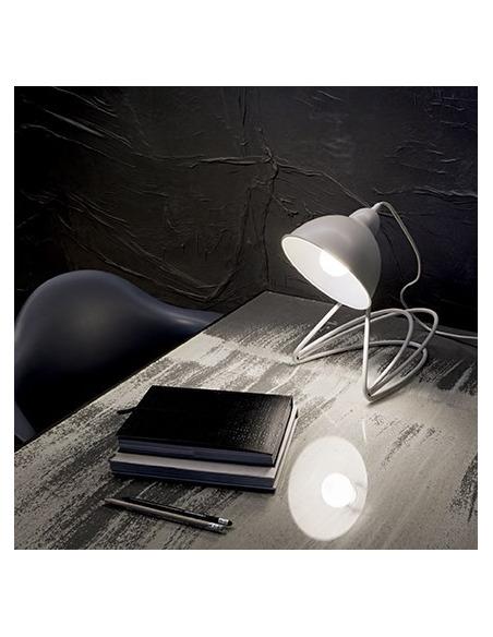 Lampe à poser orientable Italiano en métal au design contemporain