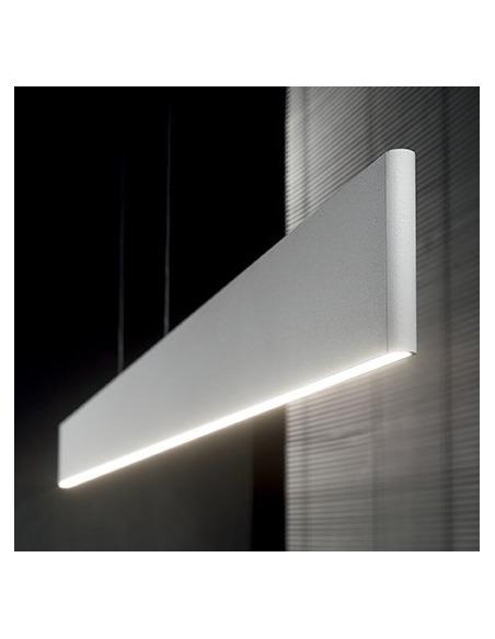 Suspension Fino LED 23W en aluminium au design minimaliste