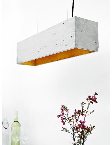Suspension B4 Beton - Interieur Or