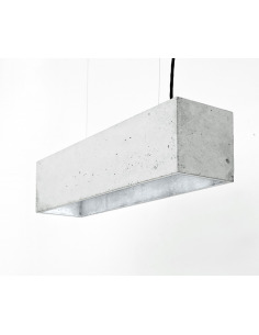Suspension B4 Beton - Interieur Argent