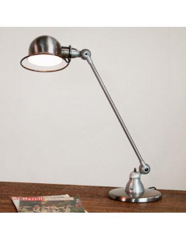 Lampe poser signal si400 au design industriel en m tal - Lampe a poser industriel ...