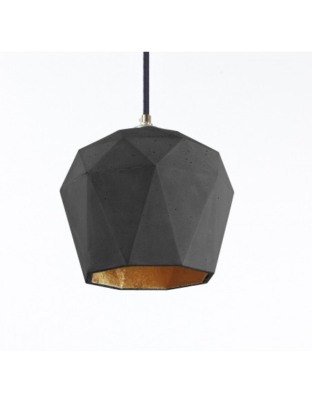Suspension Design T3 Triangle Beton Noir