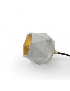 Lampe de sol Design T2 Triangle Beton