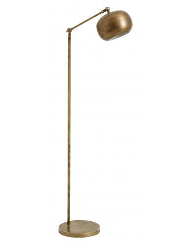 lampadaire design globe en laiton au design vintage par nordal