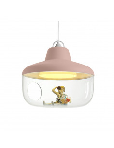 Suspension pour chambre d'enfant FAVORITE THINGS rose par Chen Karlsson