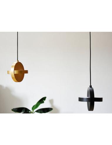 Noir X Suspension Design Plus Par Nocc Studio En Led Acier Eno 0PwnOk8