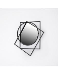 Miroir design Prego au design géométrique par Sam Baron X Eno Studio