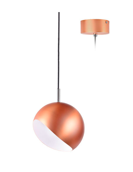Suspension design Ronda LED 6W en aluminium au design contemporain