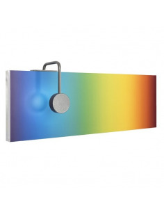 Applique murale contemporaine SUN-rise set Large LED rectangulaire par Emko design