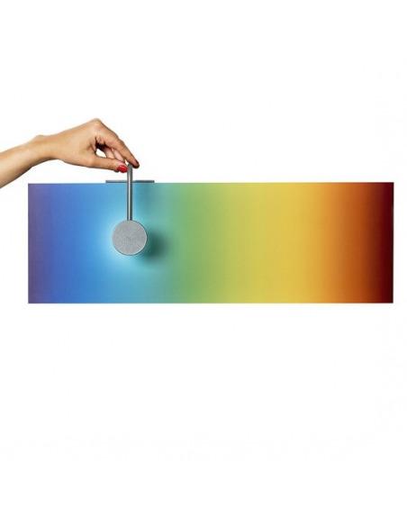 Applique murale contemporaine SUN-rise set Large LED rectangulaire par Emko design
