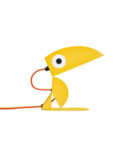 Lampe à poser pour enfants Toucan Jaune collection ANIMO par Bleu carmin Design
