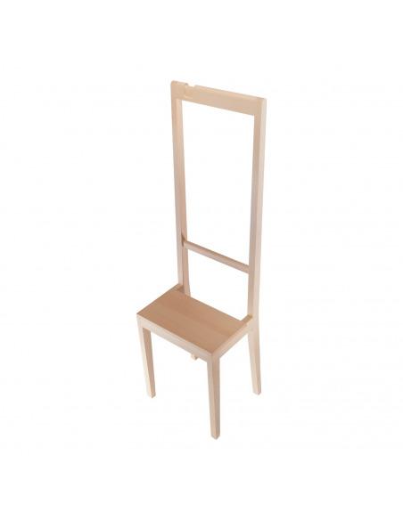 Chaise contemporaine Alfred au design original par Loris & Livia X Covo design