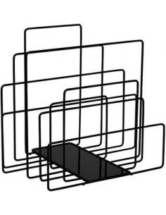 Porte-revues au sol RANDOM au design contemporain par Takahide Sano  X Covo design