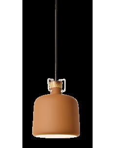 Suspension Message In A Bottle en bois au design contemporain