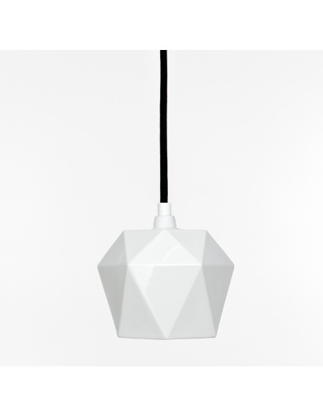Suspension Design K1 Triangulaire en porcelaine