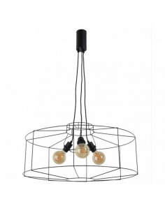 Suspension graphique Wayne Ø76cm en métal peint par Market Set