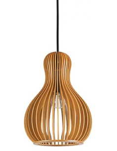 Suspension scandinave Lamello 3 en bois naturel pour un design scandinave