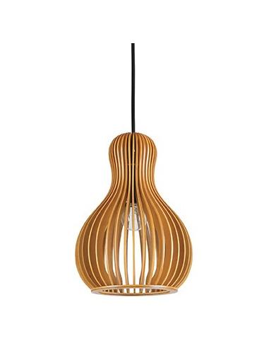 Suspension scandinave Lamello 3 en bois naturel pour un design scandinave