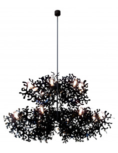 Suspension Supercoral 16L Ø140 cm par Villa Tosca Design X Lumen Center Italia