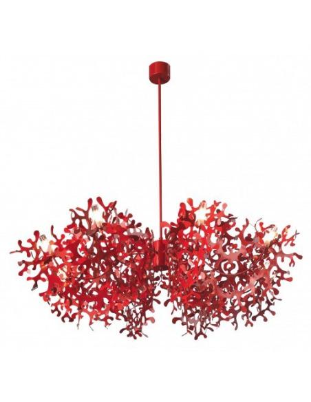 Suspension Supercoral 8L Ø140 cm par Villa Tosca Design X Lumen Center Italia