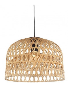 Suspension en Bamboo naturel Tunes Ø 53 cm pour un design scandinave ethnique