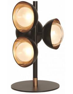 Lampe à poser design Muse 5 en laiton brossé au design chic par Corrado Dotti X Tooy