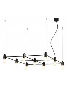 Suspension Quadrante 9 Led...