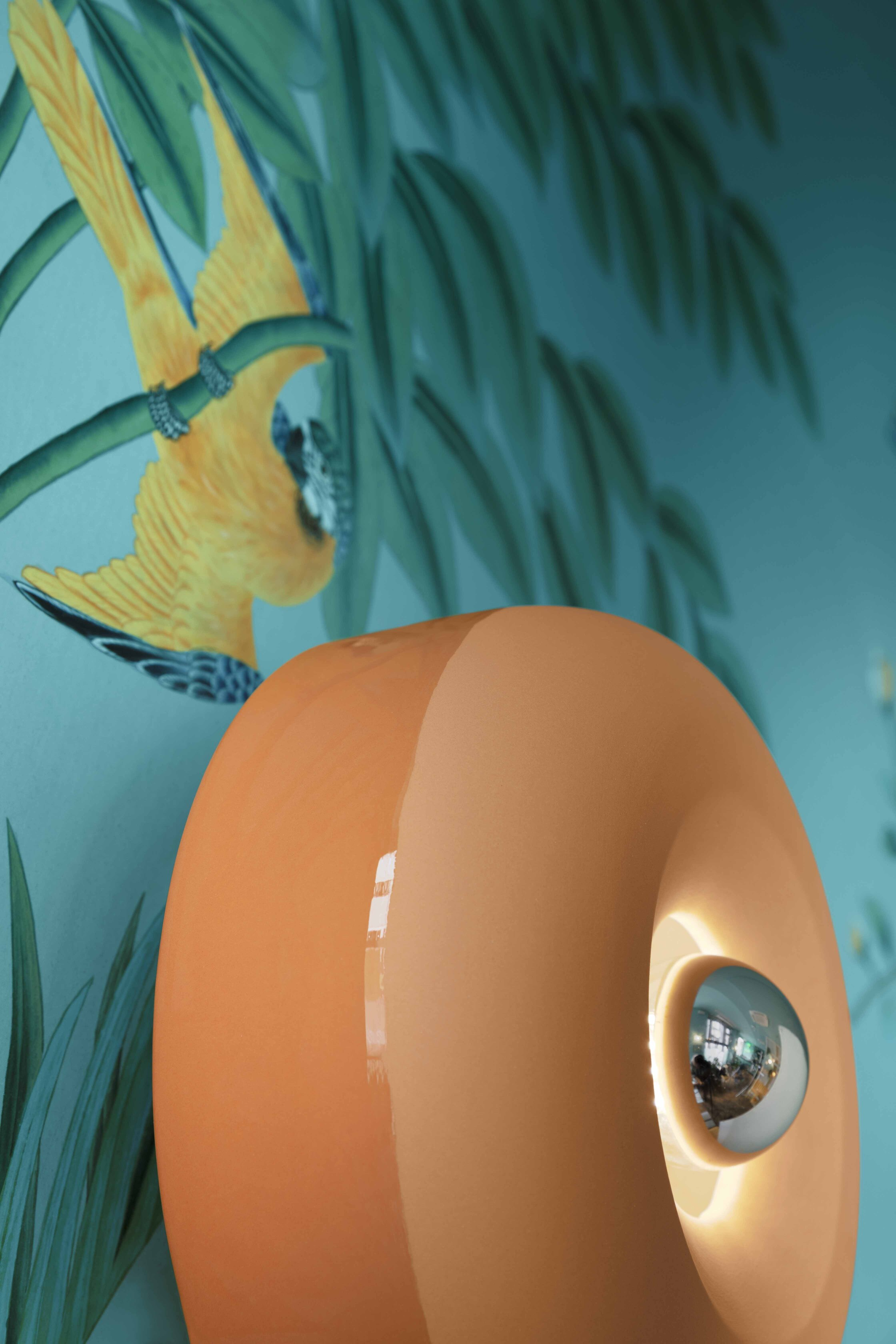 Plafonnier/applique BELLOTA rond Ø27,5cm en céramique contemporaine en 4 coloris par Ferroluce