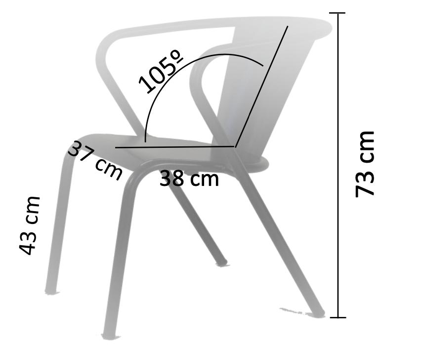 Dimension chaise gonçalo