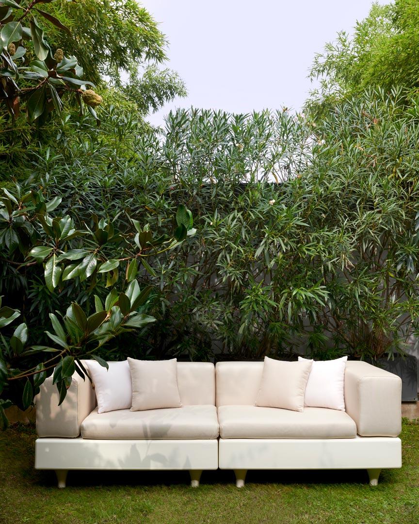 Canapé de jardin modulable Happylife par Bedini, Settimelli, Marzano x SLIDE Studio
