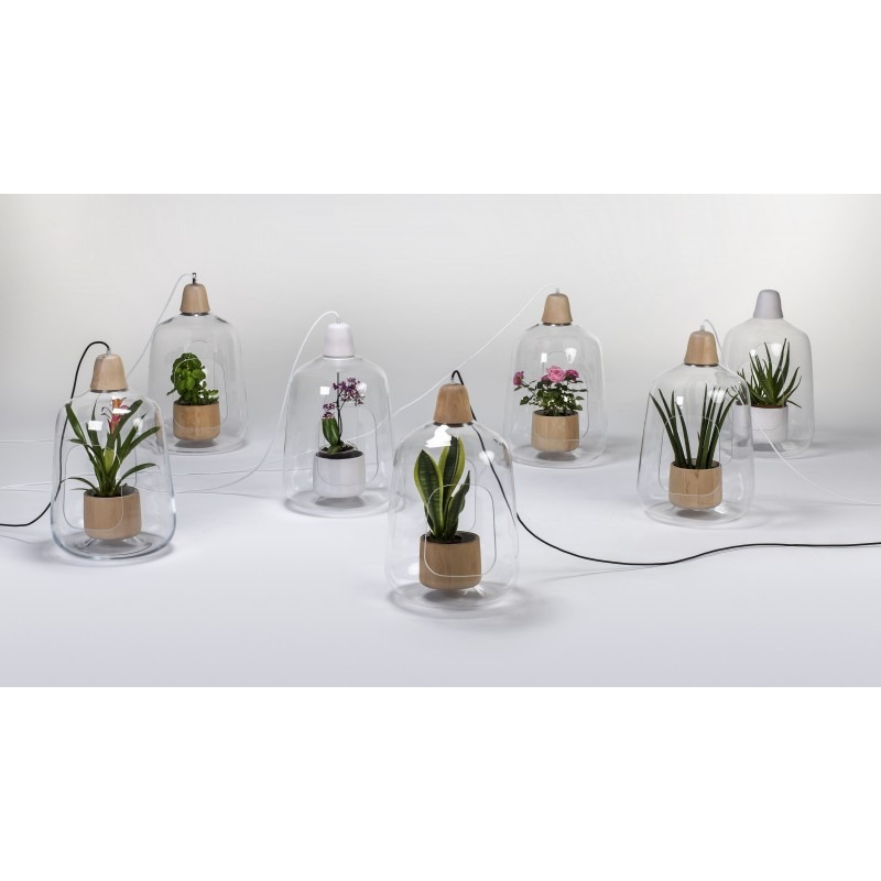 Cr er un jardin d 39 int rieur avec des luminaires design et contemporain otoko - Creer un jardin contemporain ...