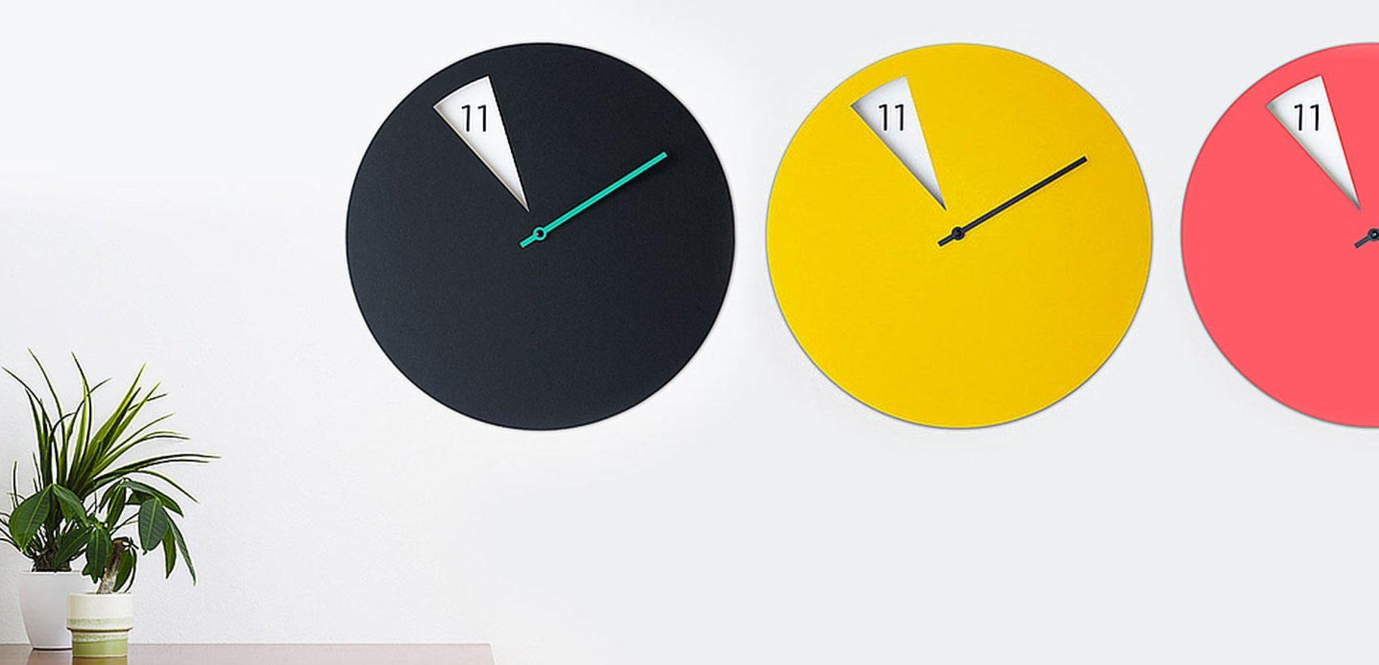 5 horloges design pour une d coration murale tendance otoko. Black Bedroom Furniture Sets. Home Design Ideas