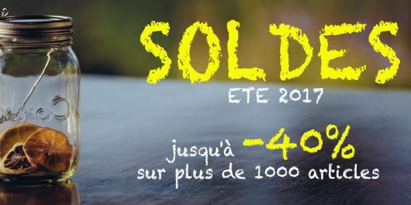 SOLDES ETE 2017 - Jusqu'à -40% sur nos produits design en soldes